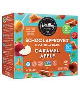 Healthy Crunch School Approved Granola Bar Caramel Apple
