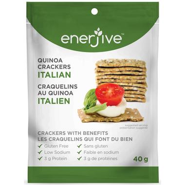 Enerjive Quinoa Crackers Italian