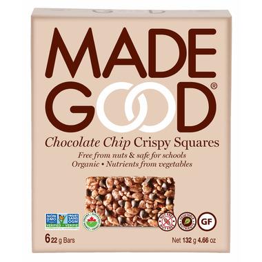 MadeGood Chocolate Chip Crispy Squares