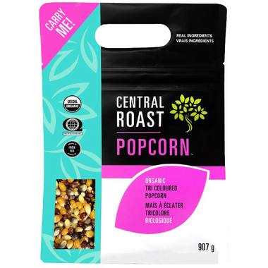 Central Roast Organic Tri Colour Popcorn