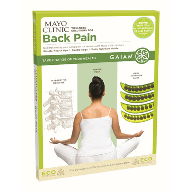 Gaiam Mayo Clinic Wellness Solutions For Back Pain DVD