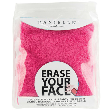 Danielle Erase Your Face Makeup Removing Cloth Blue