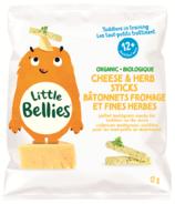 Little Bellies Organic Cheese & Herb Puff Sticks