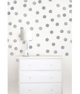 WallPops Metallic Silver Confetti Dots