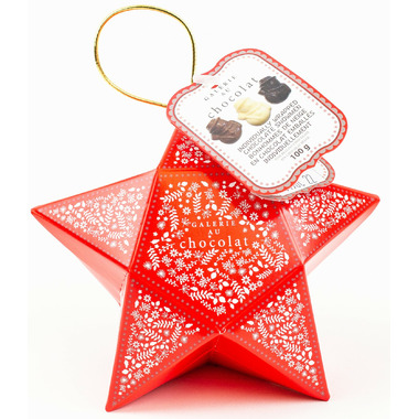 Galerie Au Chocolat Holiday Star Ornament