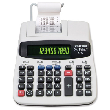 Victor Big Print Commercial Thermal Printing Calculator