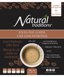 Natural Traditions Focus Fuel Coffee Instant Mushroom Coffee Blend