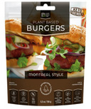 Plant Based Chef Montreal Style Burger
