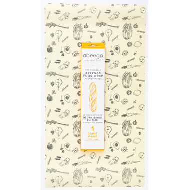Abeego Giant Flat Natural Food Wrap