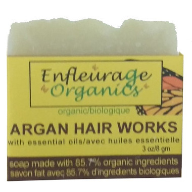 Enfleurage Organics Bar Shampoo Argain Hair Works