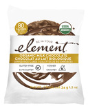 Element Snacks Organic Milk Chocolate Dipped Rice Cakes