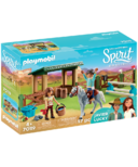 Playmobil Spirit Riding Arena with Lucky & Javier