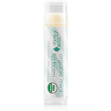 100% Pure Organic Lip Balm Mint