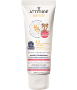ATTITUDE 2-in-1 Natural Shampoo & Body Wash for Babies