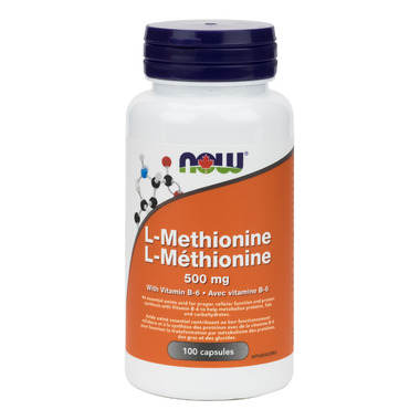 NOW Foods L-Methionine 500 mg