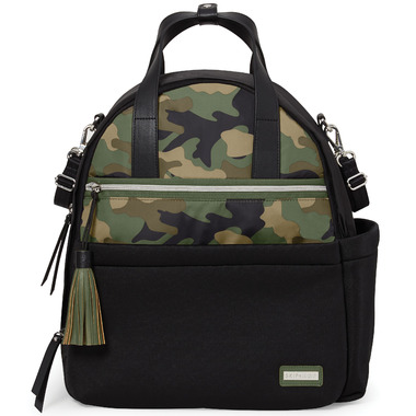 Skip Hop Nolita Neoprene Diaper Backpack Black/ Camo