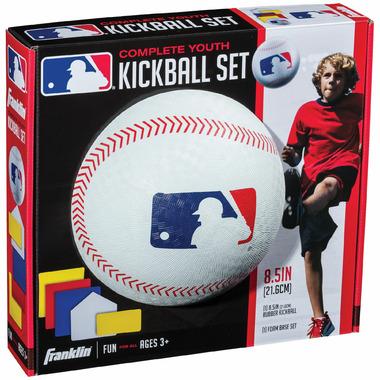 """Franklin Sports MLB 8.5\"""" Rubber Kickball Set"""