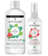 Attitude Little Leaves Hand Sanitizer Watermelon Coconut Bundle