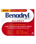 Benadryl Extra Strength