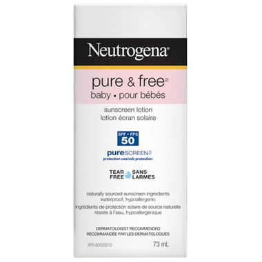 Neutrogena Pure & Free Baby Sunscreen Lotion
