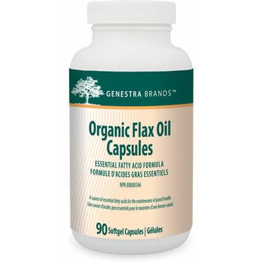 Genestra Organic Flax Oil Capsules