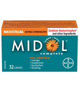 Midol Extra Strength Menstrual Complete Large Bottle