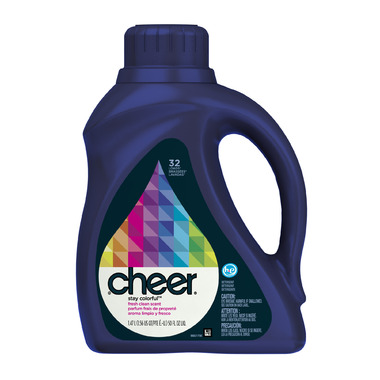 Cheer High-Efficiency Liquid Laundry Detergent