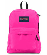 Jansport Super Break Backpack Ultra Pink