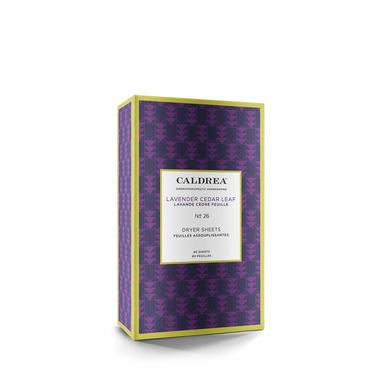 Caldrea Dryer Sheets Lavender Cedar Leaf
