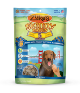 Zuke's Skinny Bakes 5 Calorie Dog Treats with Peanut Butter & Blueberries