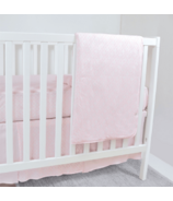 Perlimpinpin Bamboo Crib Bedding Set Diamond