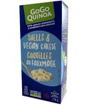 GoGo Quinoa White Shells & Vegan Cheese