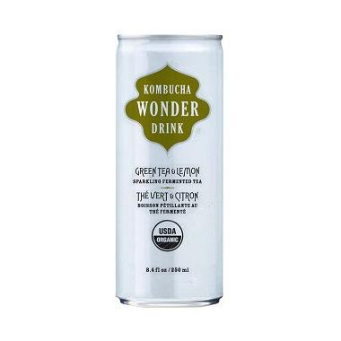 Kombucha Wonder Drink Green Tea & Lemon Can