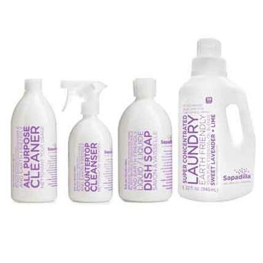 Sapadilla Sweet Lavender + Lime Cleaning Starter Bundle