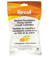 Rexall Menthol Eucalyptus Honey Lemon Cough Lozenge