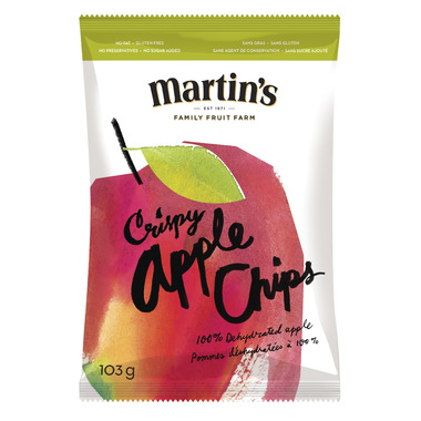 Martin\'s Crispy Apple Chips