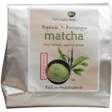 Two Hills Tea Matcha 1st Harvest Green Tea Powder Organic