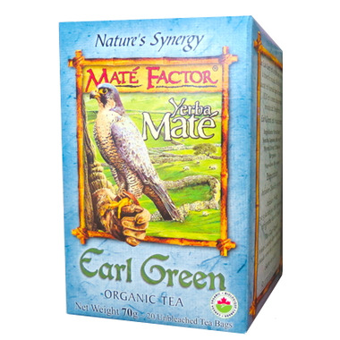 Mate Factor Yerba Mate Organic Earl Green Tea