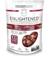 Enlightened Roasted Broad Bean Crisps Sweet Cinnamon