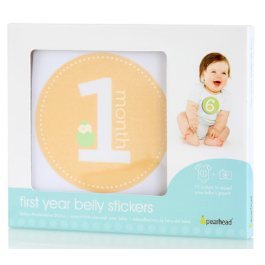 Pearhead First Years Milestones Stickers Neutral