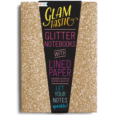 OOLY Glamtastic Notebooks Gold & Bronze