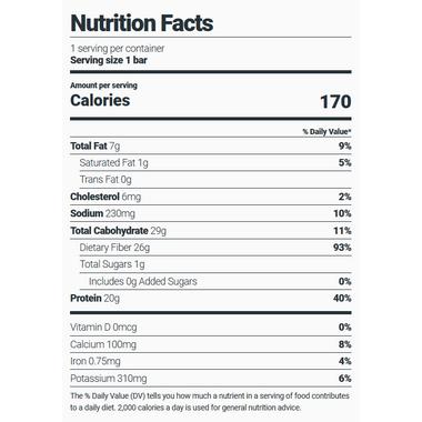 Julian Bakery Stay Thin Egg White Protein Bar Peanut Butter