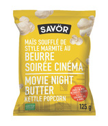 Savor Kettle Popcorn Movie Night Butter
