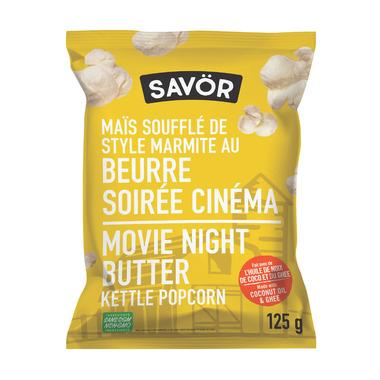 Savor Kettle Popcorn Movie Night Butter