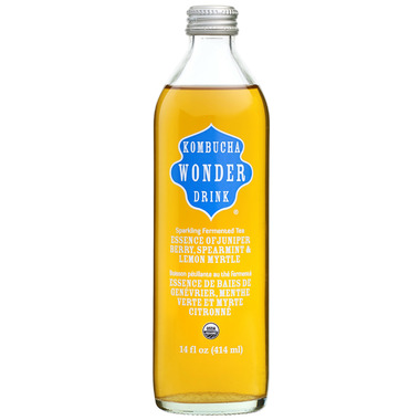 Kombucha Wonder Drink Essence of Juniper Berry, Spearmint and Lemon Myrtle