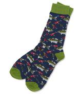 Hatley Men's Crew Socks Gone Fishing