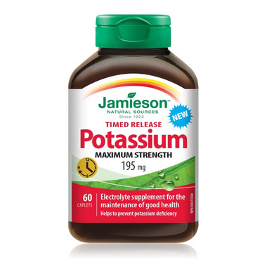 Jamieson Time Release Potassium 195mg