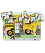 Melissa & Doug Casse-tête sonore les roues du Bus Sound Puzzle
