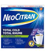 NeoCitran Total Cold Night Green Tea
