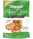 Snack Factory Pretzel Crisps Garlic Parmesan Deli Style